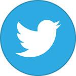 Round Twitter Icon